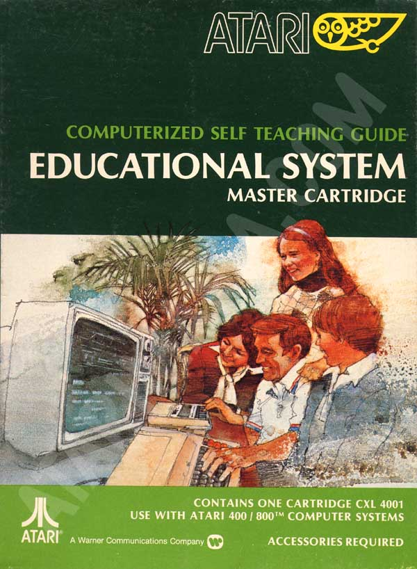Atari Educational System Lesson Cassettes/Atari Educational System CXL 4001-1.jpg