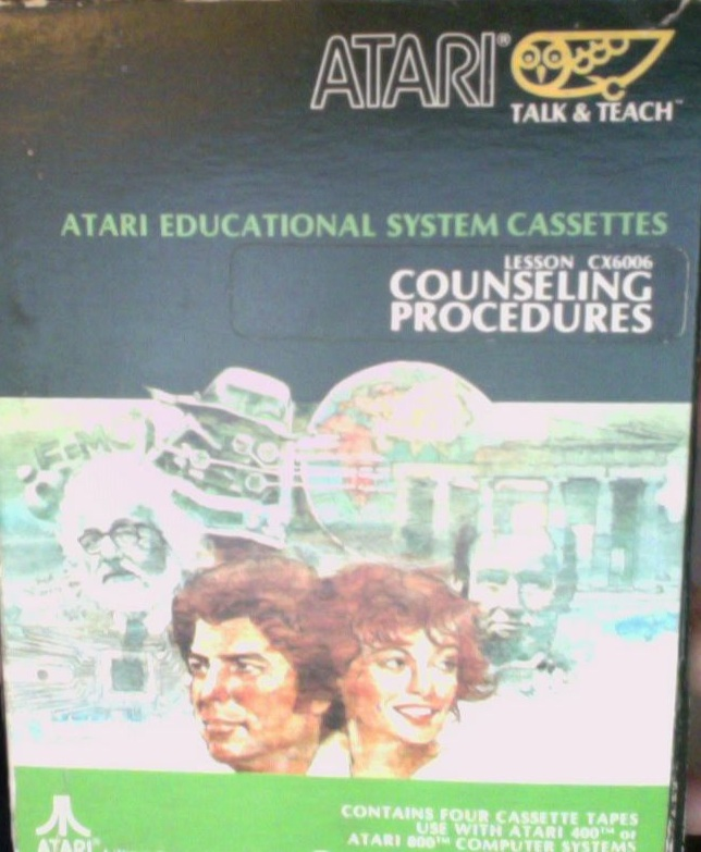 Atari Educational System Lesson Cassettes/Atari Educational System Lesson-Counseling Procedures CX6006.jpg