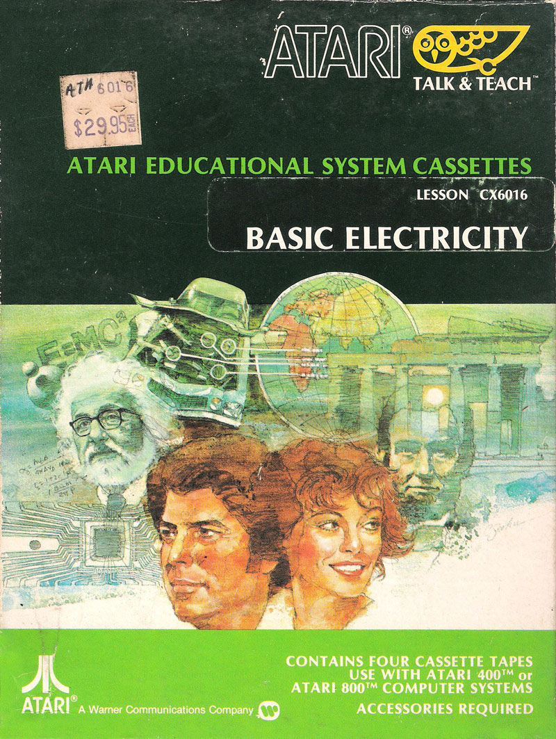 Atari Educational System Lesson Cassettes/Basic Electricity CX6016.jpg