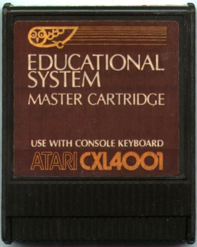 Atari Educational System Lesson Cassettes/Educational System Cartridge.jpg