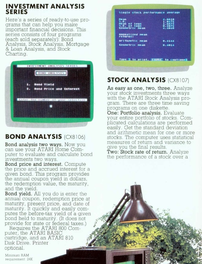 Atariwiki V Atari Investment Analysis Series