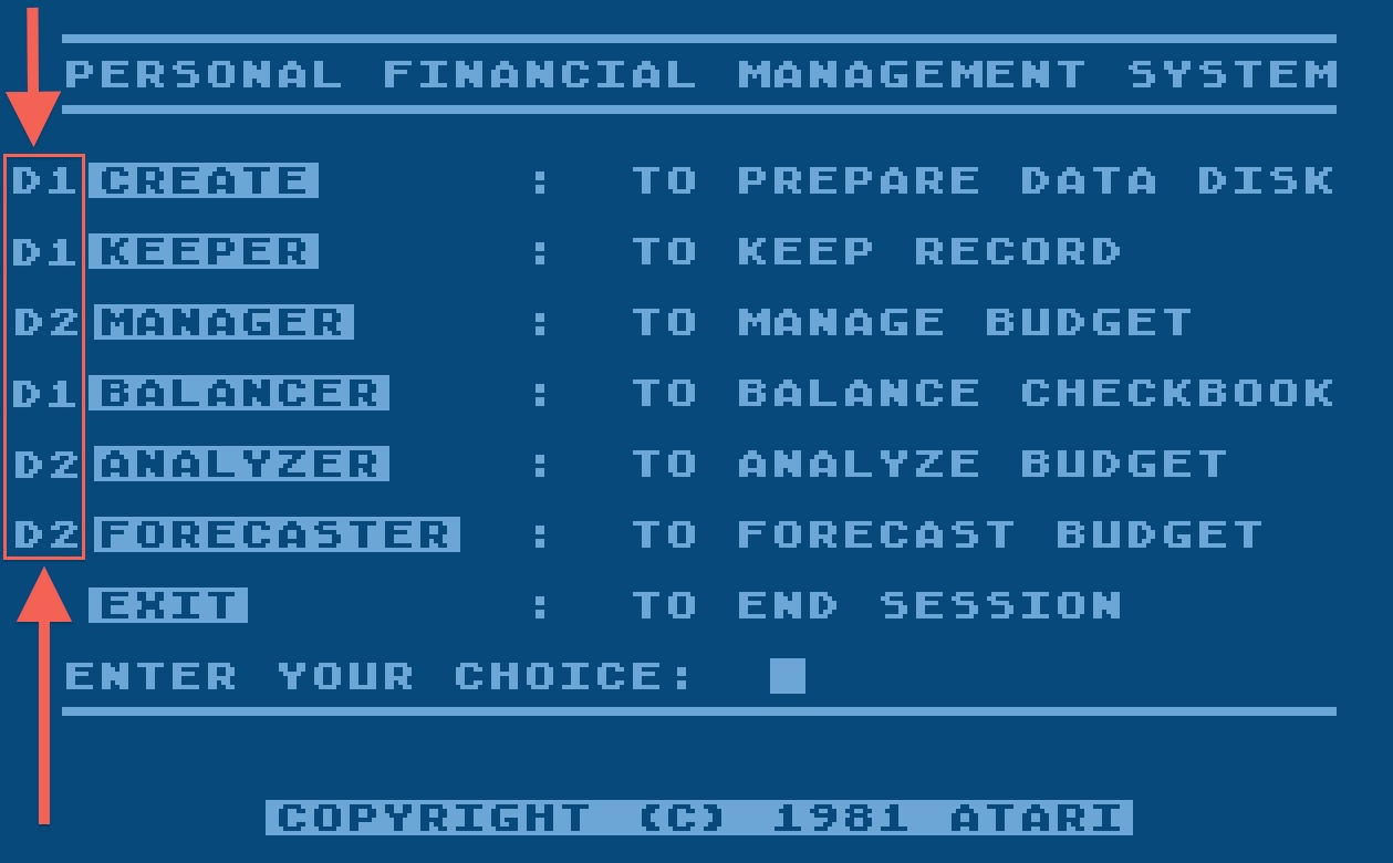 Atari Personal Financial Management System/2-Main Menu__.jpg
