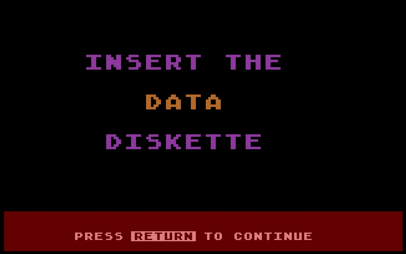 Atari Personal Financial Management System/5-Insert the data diskette.jpg