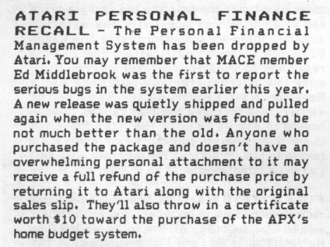 Atari Personal Financial Management System/AtariPersonalFinanceRecall.png
