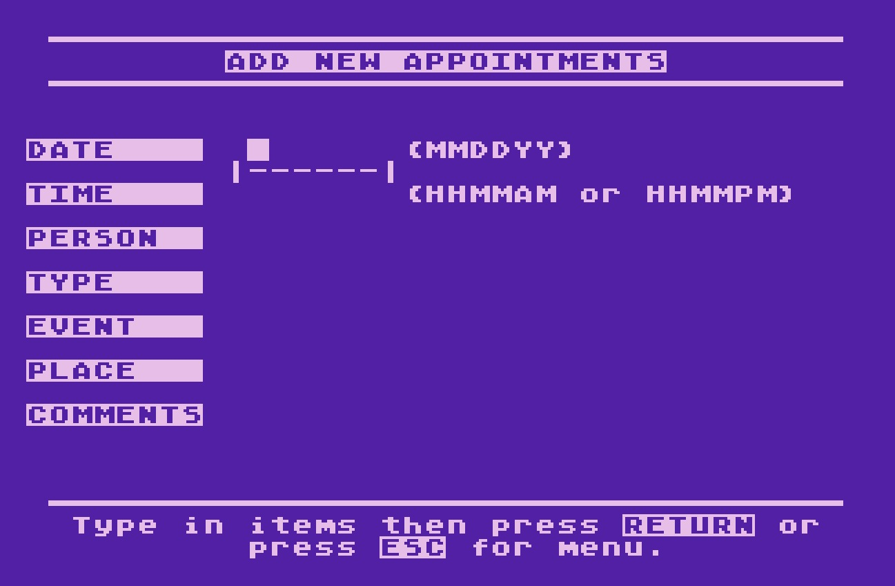 Atari Timewise/Add New Appointments.jpg