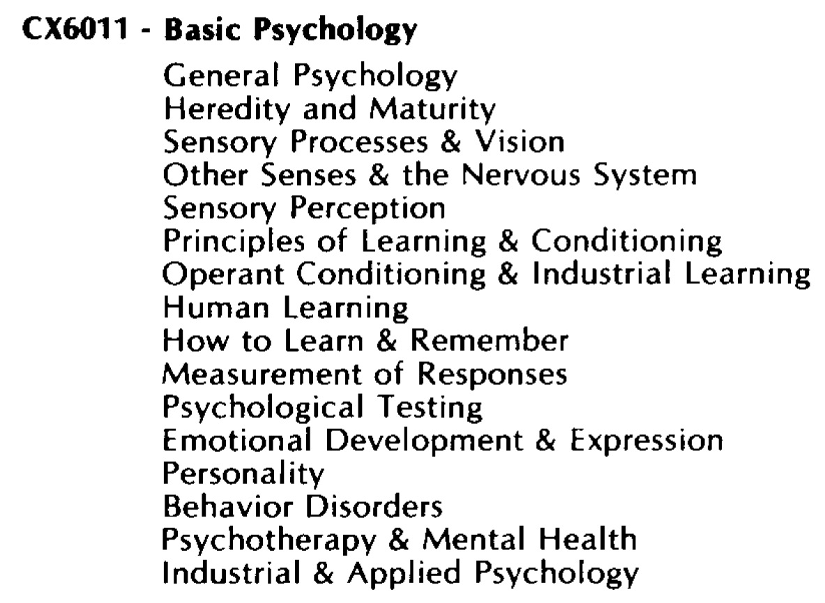 Basic Psychology CX6011/Basic Psychology CX6011.jpg