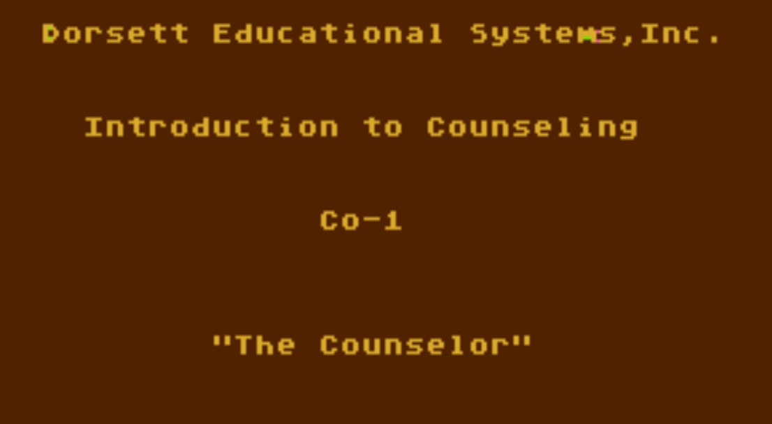 Counseling Procedures CX6006/P01.jpg