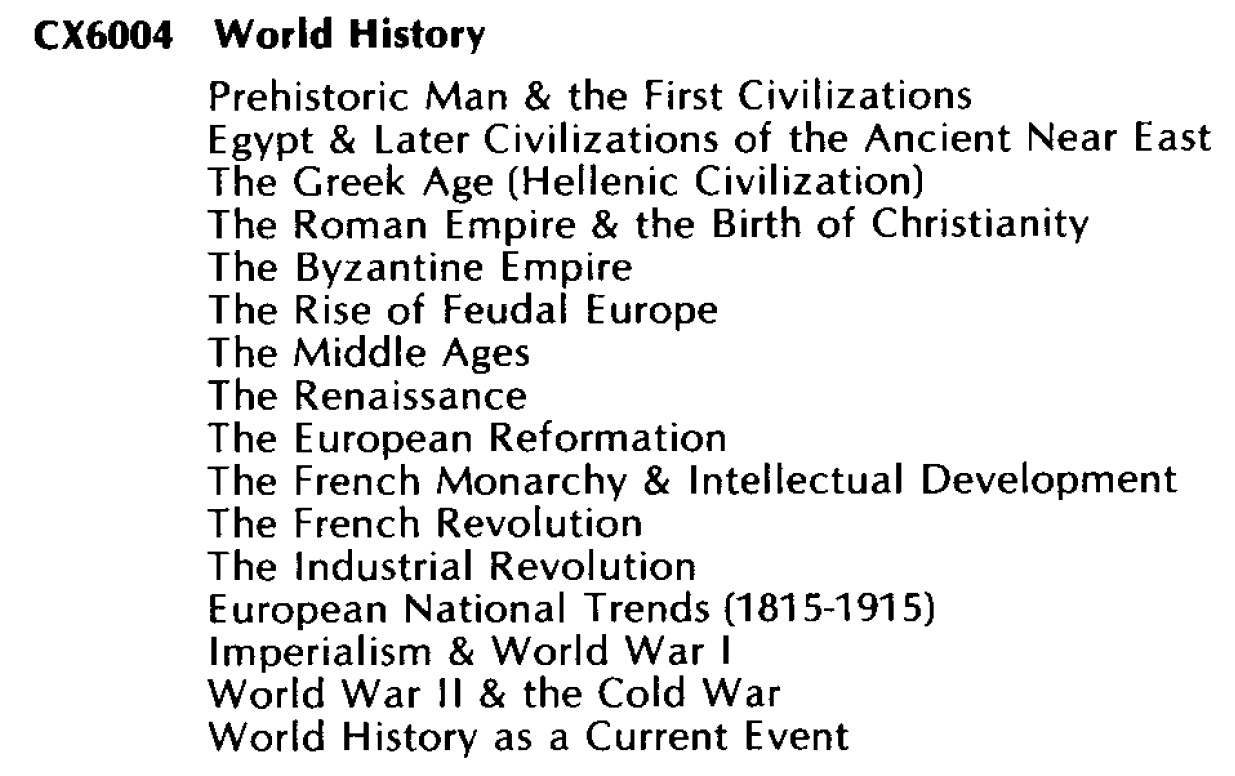 World History (Western) CX6004/World History (Western) CX6004.jpg